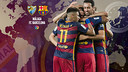 Barça travel to Málaga on Saturday in Match Day 21 of La Liga. / FCB