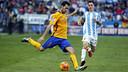 Sergio Busquets face à Malaga/ MIGUEL RUIZ - FCB