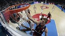 Justin Doellman won the game for FC Barcelona over Real Madrid with a game-winning shot that beat the horn. / EUROLEAGUE.NET