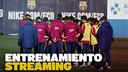 Streaming entrenamiento primer equipo ESP