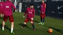 Messi entrenament Ciutat Esportiva