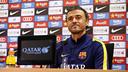 Luis Enrique, en conférence de presse / MIGUEL RUIZ - FCB