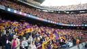 94,990 fans at Camp Nou on Saturday / VICTOR SALGADO-FCB