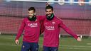 Jordi Alba i Arda Turan / MIGUEL RUIZ-FCB