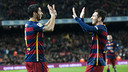Luis Suárez and Leo Messi were nothing short of magnificent against Valencia on Wednesday night at Camp Nou. / VICTOR SALGADO - FCB