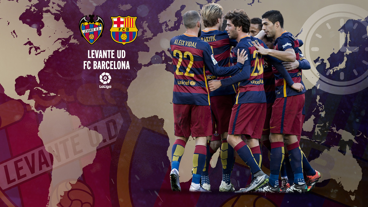 O guia FCB para o duelo entre Levante e Barça.
