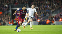 Luis Suárez scorched Valencia for four goals in Wednesday's first leg at Camp Nou. / MIGUEL RUIZ - FCB