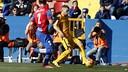 Jordi Alba est à l'origine du premier but du Barça à Levante / MIGUEL RUIZ-FCB