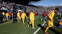 El Barça, a l'estadi del Llevant / MIGUEL RUIZ - FCB