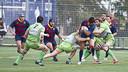 El Barça gana claramente (40-20) y ya son séptimos en la clasificación / Foto: VÍCTOR SALGADO