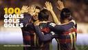 El trident del Barça ha arribat als 100 gols