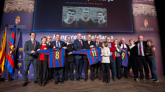 Those in attendance gathered for a group photo / GERMÁN PARGA - FCB