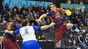 Lazarov led Barça's scoring with eight goals / VICTOR SALGADO - FCB
