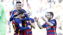 Lionel Messi and Neymar Jr led the way for Barça on Saturday. / MIGUEL RUIZ - FCB
