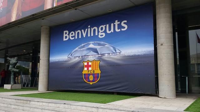 Benvinguts al Camp Nou, en la prèvia del Barça - Arsenal
