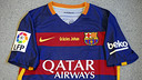The jersey for Saturday's game will display the message 'Thank you Johan' / MIGUEL RUIZ - FCB