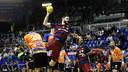 FC Barcelona Lassa davant BM Benidorm / PACO LARGO-FCB