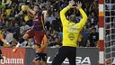Aitor Ariño has passed the 300 goal mark in the Asobal / VICTOR SALGADO - FCB