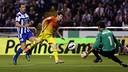 Leo Messi, against Deportivo in the 2012/13 season. / MIGUEL RUIZ-FCB