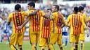 The team was electric at Riazor / MIGUEL RUIZ-FCB