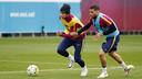 Neymar and Alves / MIGUEL RUIZ - FCB