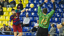 Gurbindo scored six against Teucro / VÍCTOR SALGADO - FCB