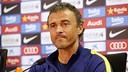 Luis Enrique in a press conference this season / MIGUEL RUIZ - FCB