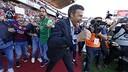 Luis Enrique célèbre le 24ème titre en Liga du Barça / MIGUEL RUIZ - FCB