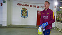 グラナダ戦でプレーする前のテア・シュテーゲン / MIGUEL RUIZ - FCB