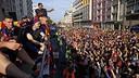 Barcelona, plena de gom a gom per rebre els campions / MIGUEL RUIZ - FCB