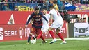 Leo Messi en una acción de la final / VÍCTOR SALGADO - FCB
