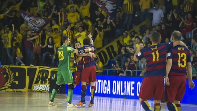 El Barça Lassa es un habitual de las semis de la LNFS