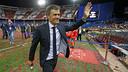 Luis Enrique heureux d'avoir remporté le doublé Coupe-Championnat / MIGUEL RUIZ - FCB