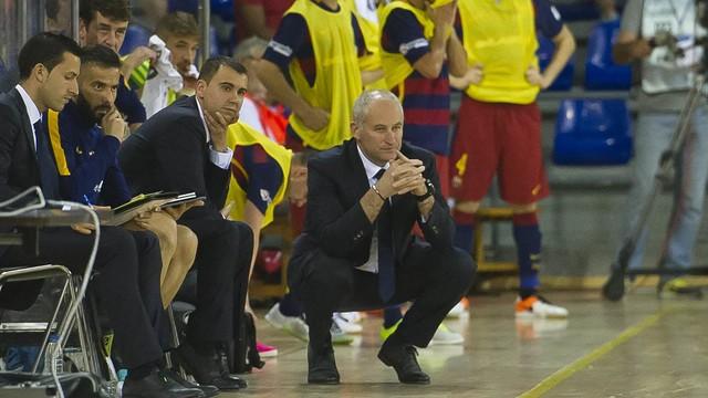 Marc Carmona habrá dirigido al FC Barcelona Lassa durante 11 temporadas desde el banquillo culé