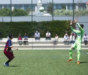 O Infantil B, campeão da Liga Espanhola