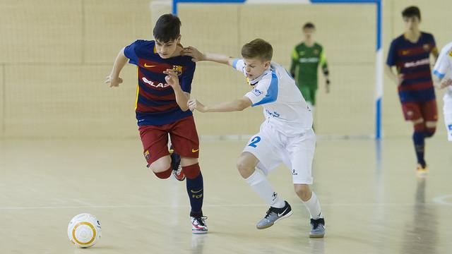 El Infantil ganó la Liga en el último partido del campeonato