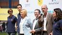 Inauguració del 'Cruyff Court' Sergio Busquets. GERMÁN PARGA / FCB