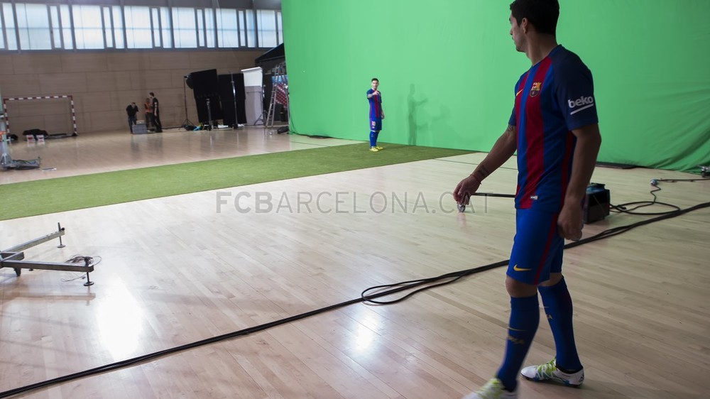 Making of del video de la nueva camiseta Nike del FC Barcelona