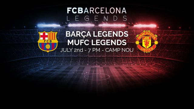 Els Barça Legends jugaran al Camp Nou el proper 2 de juliol / FCB
