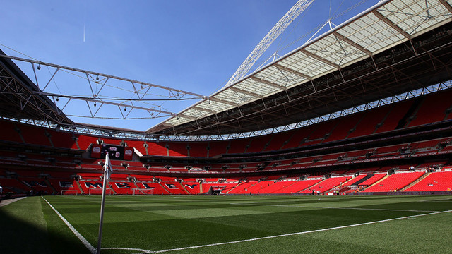 Wembley will be packed for Liverpool FC v FC Barcelona / FA